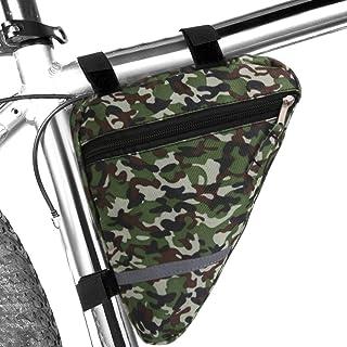 MOOCY 迷彩运动自行车储物袋三角鞍架自行车袋