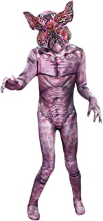 Cafele Stranger Things Demogorgon 服装连体衣带面罩儿童(款式 2,高 119.4 厘米)