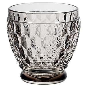 Villeroy & Boch Boston Clear Crystal Shot Glass, Set of 4 烟灰色