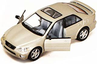Lexus IS300, Champagne - Kinsmart 5046D - 1/36 scale Diecast Model Toy Car (Brand New, but NO BOX)