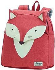 Samsonite 新秀丽 快乐Sammies-儿童学生背包,28厘米,7.5升,橙色(小狐狸威廉姆)