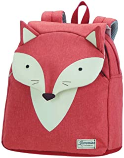 Samsonite 新秀麗 Happy Sammies 兒童背包,Orange (Fox William),28 centimeters
