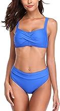 Vegatos 女士加墊比基尼泳裝兩件式泳衣系帶式泳衣