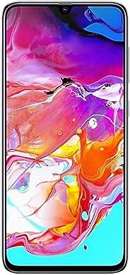 Samsung Galaxy A70 128GB/6GB SM-A705M/DS 6.7 英寸 HD+ Infinity-U 4G/LTE 工厂解锁智能手机(国际版)A70 白色