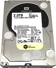 Western Digital HDD WD2000FYYZ 企业 2TB SATA 6Gb/s 7200rpm 64MB 缓存裸机驱动器 (WD2000FYYZ)