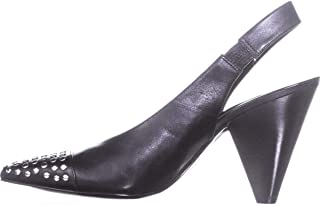 MICHAEL Michael Kors Gemma 铆钉皮革后跟高跟鞋