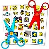 Playskool 幼儿和学龄前儿童*剪刀套装 - 2 对(适合左手和右手儿童) Safety Scissors for Preschoolers; Left Handed; Right Handed; Toddlers; Kids Safety Scissors