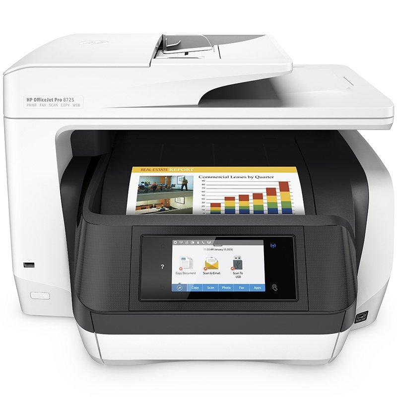 HP 惠普 OfficeJet Pro 8720 彩色办公一体机