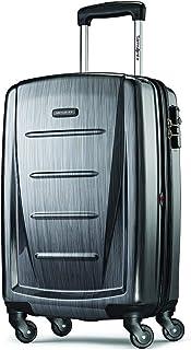 "Samsonite 新秀丽 Winfield 可扩展行李箱,24 \""(约0.61米),木炭色,Checked-medium"