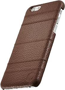 Simplism iPhone 6 次元系列TR-JGIP144-LBR 縫シリーズ 黑茶
