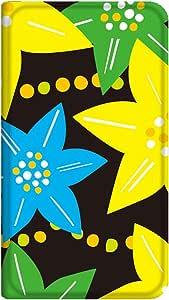 智能手机壳 手册式 对应全部机型 薄型印刷手册 cw-161top 套 手册 花朵图案 超薄 轻量 UV印刷 壳wn-0256506-wy Xperia VL SOL21 B款