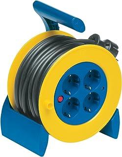 Cable Reel 迷你插座 IP44 15 毫米 蓝色/黄色