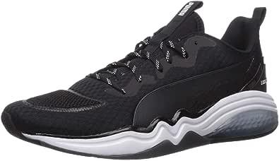 PUMA 男士 Lqdcell Tension 运动鞋 黑色/白色 7