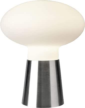 Villeroy&Boch Bilbao 台灯,金属,25 W,缎面/白色,高42厘米,直径35厘米