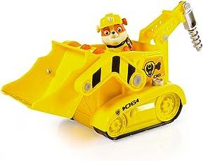 PAW PATROL 汪汪队立大功 声光救援车系列玩具 挖掘机(供应商直送)