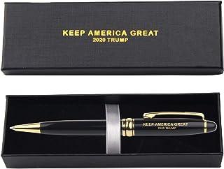 爱国 TRUMP Gold USA 钢笔可搭配任何 Donald Trump 会说话的笔筒 Donald Trump 笔筒、Trump 铅笔刀、Trump 铅笔刀 Donald Trump 会说话的公仔或会说话的 trump 摇头