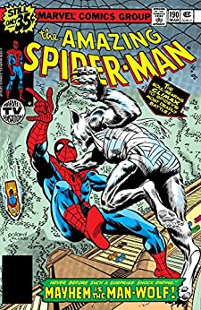 """Amazing Spider-Man (1963-1998) #190 (English Edition)"",作者:[Wolfman, Marv]"