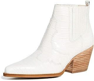 Sam Edelman 女式 Winona 及踝靴,现代象牙色,5 中码