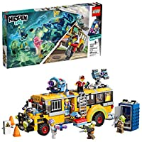 LEGO Hidden Side Paranormal Intercept Bus 3000 70423 增强现实 [AR] 搭建套件,玩具应用可与幽灵玩具和车辆一起进行无尽的创意游戏,New 2019(689 件) 标准 多种颜色