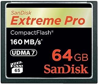 SanDisk 閃迪 Extreme Pro *超極速 CF存儲卡 符合UDMA 7高速標準 *可達160 MB/秒 64Gb