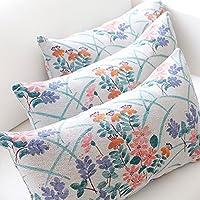 ekelund 爱蔻莱瑞典设计美式田园纯棉提花腰枕靠垫抱枕含枕芯 抱枕40X40cm(含芯) 安博洛