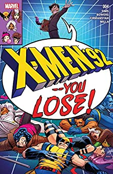 """X-Men '92 (2016) #4 (English Edition)"",作者:[Bowers, Chad, Sims, Chris]"