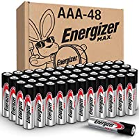 Energizer AAA Batteries, Triple A Battery Max 碱性 AAA-48 48 Count 48