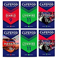 CAFEPOD Nespresso 兼容咖啡膠囊 6件-60個膠囊