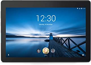 Lenovo 联想 Tab E10 25.5 厘米(10,1 英寸高清 IPS 触屏)平板电脑(Qualcomm APQ8009 四核,2 GB 内存,32 GB eMCP,Wi-Fi,Android 8.1)黑色ZA470057SE  10 Zoll