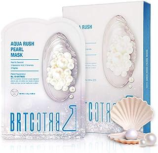 BRTC 碧然德 Aqua Rush 珍珠面膜(5 件装)带真正的珍珠提取物,25 克
