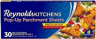 Reynolds Kitchens 弹出式羊皮纸板 - 25.4 x 35.56 cm,30 张