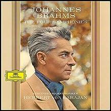进口LP:布拉姆斯四首交响曲-卡拉扬&柏林爱乐(黑胶唱片) Brahms:Four Symphonies(4LP)4797429
