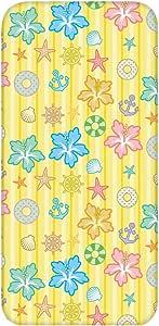 智能手机壳 TPU 印刷 对应各种机型 图案A(cw-1206) Huawei Ascend D2 HW-03E * 套 软质 花朵图案 扶桑花 花 UV印刷 壳 wn-0623739-wy