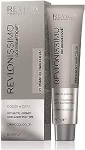 REVLON 露华浓 Professional Revlonissimo Colorsmetique Color&Care永久*剂 4,中等棕色,1件装(1 x 60毫升)