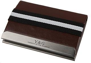 ydc04a 多色 GREAT 皮革 ID 名片夹/盒男式设计礼品 Y&G