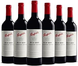 【亚马逊直采】Penfolds 奔富 Bin 389 赤霞珠设拉子干红葡萄酒750ml*6 (亚马逊进口直采红酒,澳大利亚品牌) 自营精选