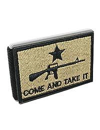 iCraft-修身前口袋 AR-15 Come and Take It 战术贴片钱包
