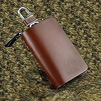 茹艺 汽车真皮钥匙包 智能钥匙包钥匙扣通用 现代
