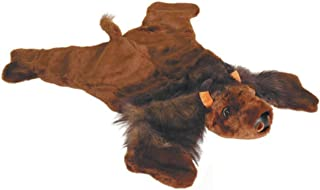 Carstens 毛绒水牛动物地毯,大号 透明 大 BUR105