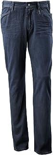"""Mascot 15379-869-66-W32L30 尺寸 W32L30 英寸ManHattan"""" 牛仔裤 - 深蓝色牛仔布"""