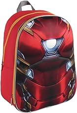 Marvel 2100001620 40 厘米 钢铁侠 3D 效果套装背包