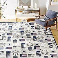 江南叶 提花地毯 绒面客厅地毯 (英伦范, 190*240cm)
