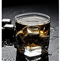 Spring home 304不锈钢速冻冰块冰酒饮料威士忌酒吧冰粒创意酒具用品家用 (速冻冰块8粒)