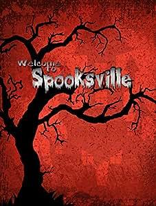Welcome to Spooksville Halloween Flag 多色 大