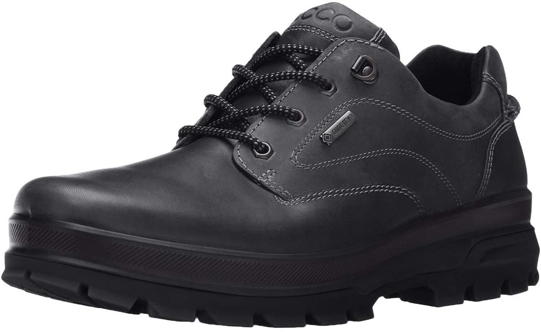 ECCO 爱步 男式 Rugged Track Gore-TEX Moc 系带运动鞋 远足鞋