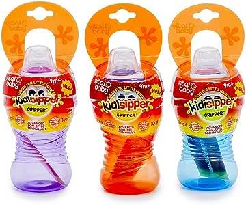 Vitalbaby 韦特儿 易握超软嘴运动水杯(9个月以上)300ml/支(紫色)(9-36月)300ml/支(亚马逊自营商品, 由供应商配送)