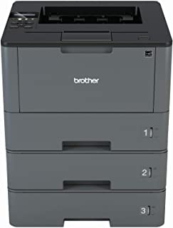 Brother hl-l5000d 1200A4黑白激光打印机 (扫描,复制, FAX ;1200x 1200dpi , USB ,印花*气囊适用于200000页)