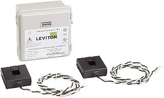 Leviton 户外表面安装机械计数器 120/208/240V 2P3W 100A 带 2 个分芯 CTs 迷你仪表套件 100-Amp MO240-1W