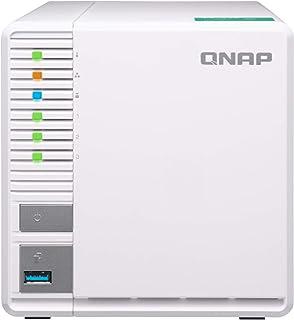 qnap(QACTE) ts-328 四核心1.4 ghz cpu 2gb内存 3 个 dtcp-ip/dlna对应 raid5,实现容量效率和可靠性