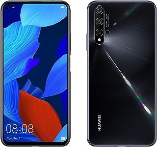 "Huawei Nova 5T 128GB 6.26"" LCD Display Smartphone with 48 MP Camera, 6GB RAM, SIM-Free Android 9.0, EMUI 9.1, Single Sim, (Black) UK Version"